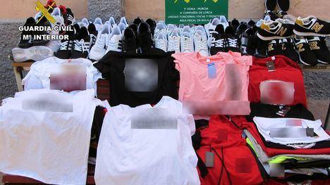 Cuatro investigados por vender productos falsos en el Guadalentín