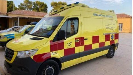 Se llevan a otro municipio la ambulancia de Alhama