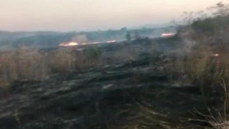 Sofocan un incendio de matojos en La Alberquilla en Librilla