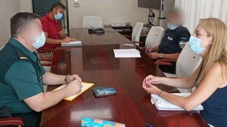 La Mesa de Coordinación Policial analiza la situación en Alhama