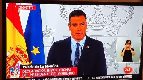 Sánchez ofrece a cada autonomía declarar el estado de alarma