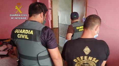 V/F Nueve detenidos en la Región por robo de cable de cobre