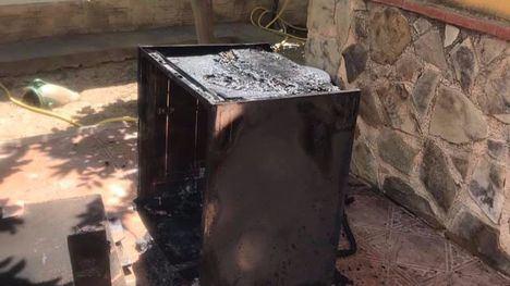 Un lavavajillas provoca un incendio en Librilla, sin heridos