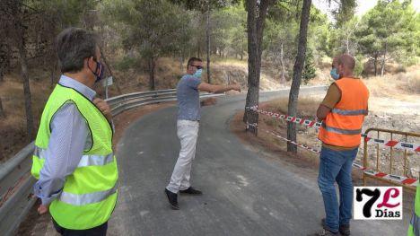 VÍDEO En marcha el arreglo de la RM-C2 de Librilla, por la DANA