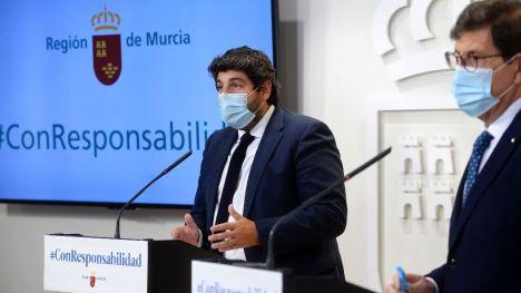 López Miras anuncia 5 millones de euros en ayudas a la hostelería