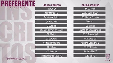 La EF Alhama compite en el 1º Grupo de la liga Preferente