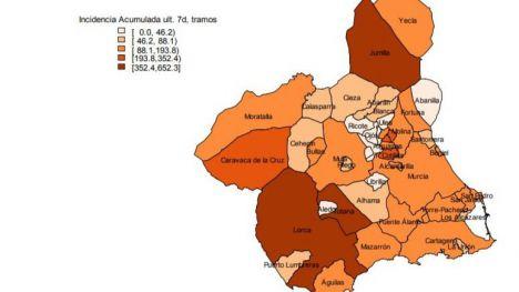 Alhama suma 16 contagios en los últimos 7 días