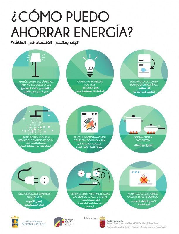 9 consejos para ahorrar electricidad y agua en el hogar