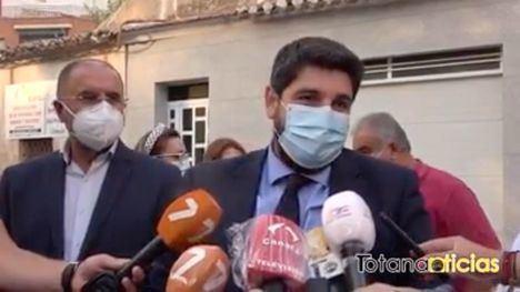 VÍDEO López Miras asiste al velatorio del Tío Juan Rita