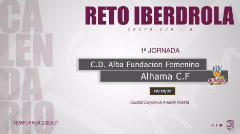 El Alhama CF ElPozo estrena liga con el Fundación Albacete
