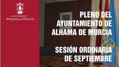 El pleno de Alhama reinicia el curso, marcado por el Covid19
