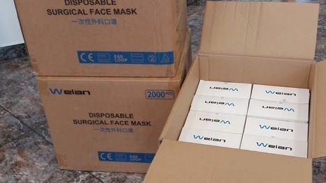 Alhama recibe 5.000 mascarillas del Ministerio de Sanidad
