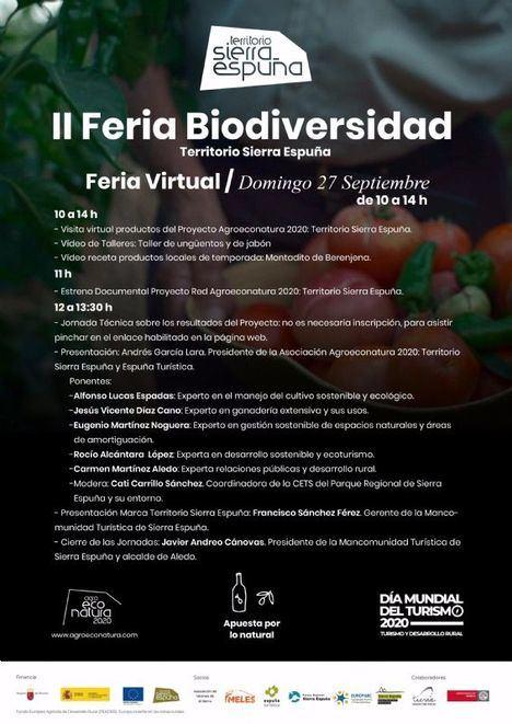La II Feria de la Biodiversidad, este domingo por Internet