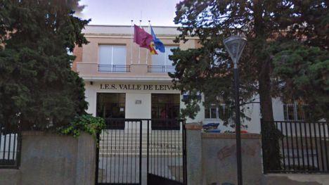 Cinco alumnos aislados en el IES Valle de Leiva por un positivo en Covid