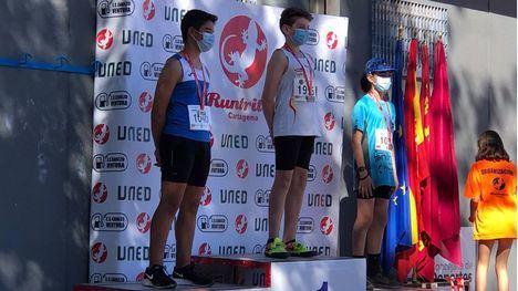 Los atletas alhameños se traen 14 medallas de Cartagena