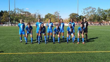 FOTOS Las azulonas Nazaret S. y Lineth C. golean en Elche (1-6)