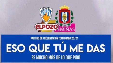 El Alhama CF ElPozo juega este domingo en el Guadalentín