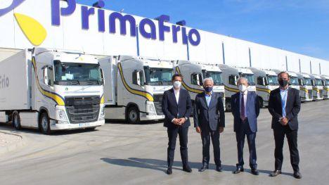 Primafrio recibe sus primeros 300 Volvo FH con I-Save 460 CV