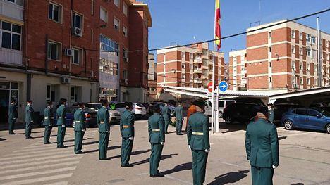 FOTOS Guardia Civil celebra un simbólico acto por su Patrona