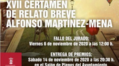 28 relatos pasan a la final del 'Alfonso Martínez Mena'