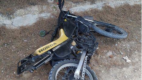 La Policía Local de Alhama recupera un motocicleta robada