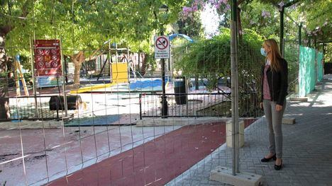 FOTOS La nueva zona infantil de La Cubana, en diciembre