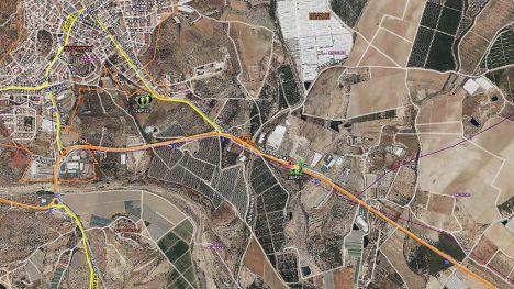Fallece un motorista en Mazarrón tras chocar contra un coche