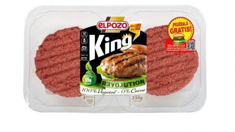 ElPozo irrumpe en el mercado de proteína vegetal con King Revolution