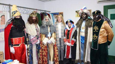 Papá Noel y los Reyes Magos visitarán a los niños de Alhama