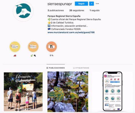 El Parque Regional de Sierra Espuña se estrena en Instagram