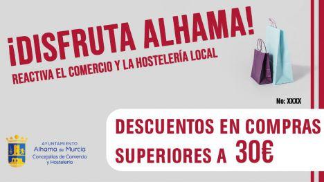 Hoy comienza la campaña de descuentos '¡Disfruta Alhama!'