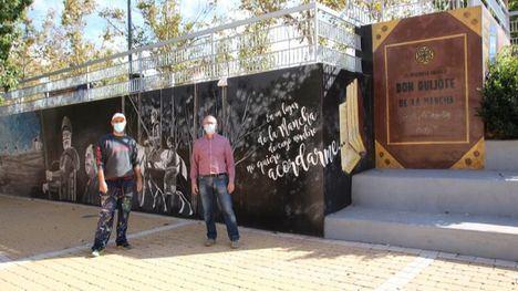 VÍD/FOT Revive las aventuras de El Quijote en la plaza Cervantes