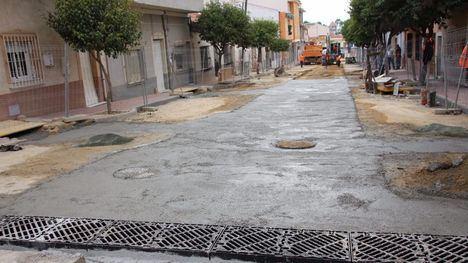 VÍD/FOT Las obras en el Barrio de los Dolores, a buen ritmo