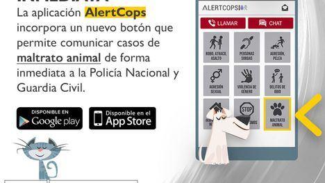 Los delitos de maltrato animal ya se pueden denunciar en AlertCops
