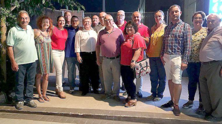 El PSOE de Alhama, en la elección de la Ejecutiva de Librilla
