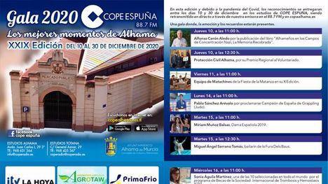 Cope Espuña presenta a los ganadores de su tradicional Gala
