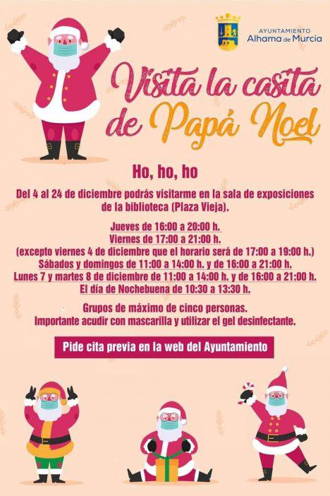 Segunda ampliación de días y horarios para ver a Papá Noel