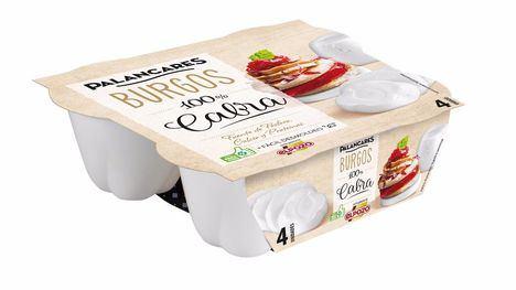 Imagen queso fresco 100% leche de cabra PALANCARES ALIMENTACIÓN.
