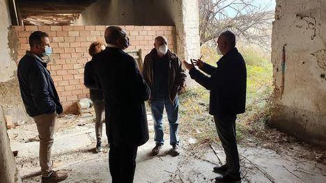 FOTOS Técnicos de Patrimonio visitan la Posada de Librilla