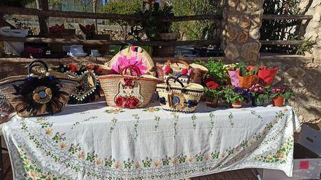 FOT. Mercado Navideño en El Berro, por la Asociación El Abedul