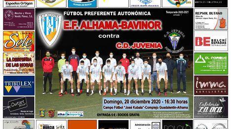 EF Alhama arranca la liga contra el CD Juvenia este domingo