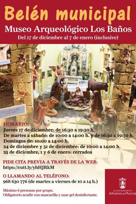 Mañana ya se puede visitar el Belén Municipal en Los Baños