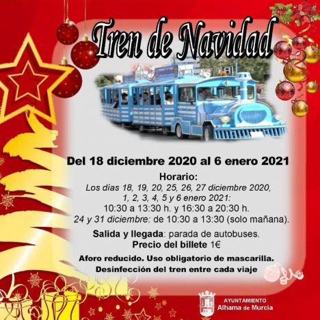 El Tren de Navidad se pone en marcha mañana viernes
