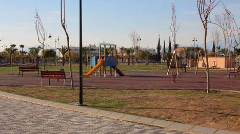 Abierto el nuevo parque municipal en Condado de Alhama