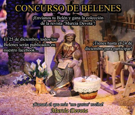 Murcia Devota convoca un concurso de Belenes