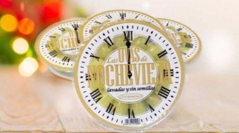 Las uvas de reloj de El Ciruelo, a la venta en Mercadona