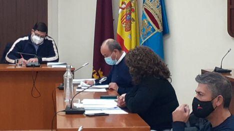 Acuerdo del pleno para la mejora de la carretera a Gebas
