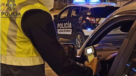 Detenido en Alhama al triplicar la tasa de alcohol al volante