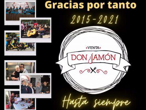 La Venta Don Jamón anuncia su cierre el próximo 17 de enero