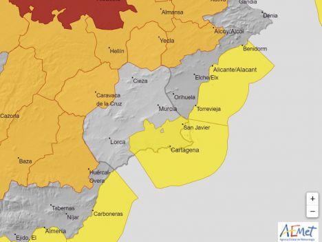 Los accesos a Sierra Espuña continúan cortados